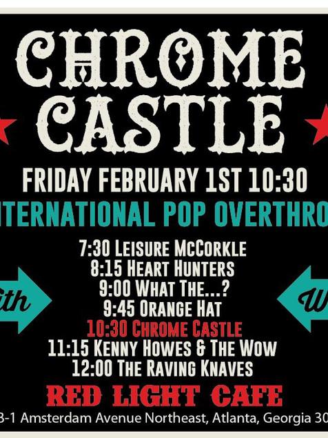 Chrome Castle at Red Light Cafe
