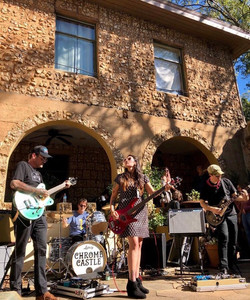 Chrome Castle at the Castle. Porchfest. Oct 13, 2018