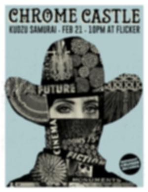 Chrome Castle Debut LP Release Show Athens, GA
