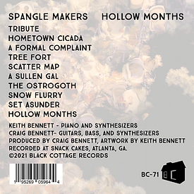 Spangle Makers Hollow Months LP