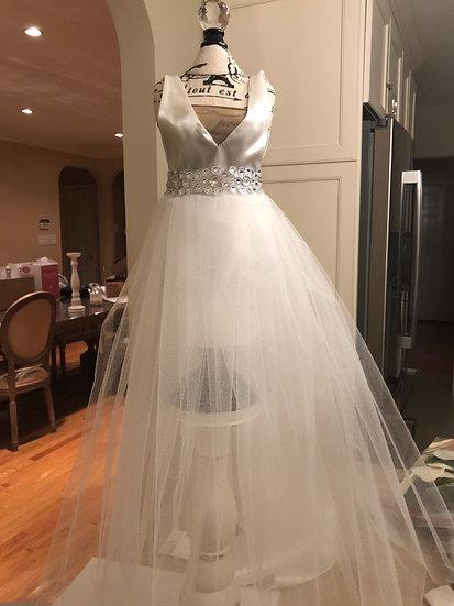 Custom Wedding Dress Centerpiece