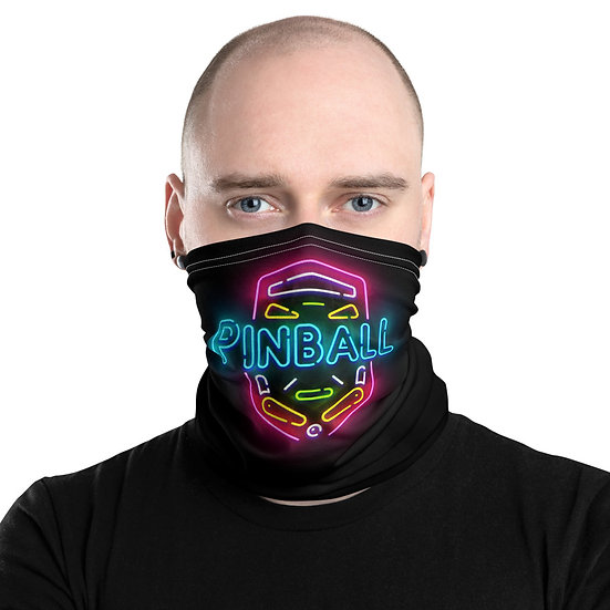 Pinball Sign Face Mask