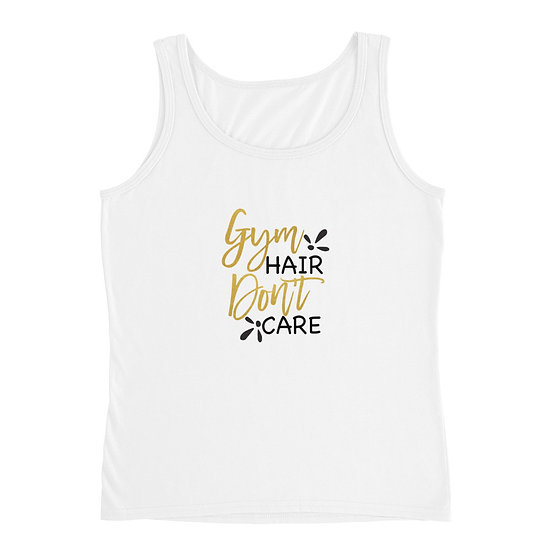 Gym Hair Don't Care Ladies' Tank