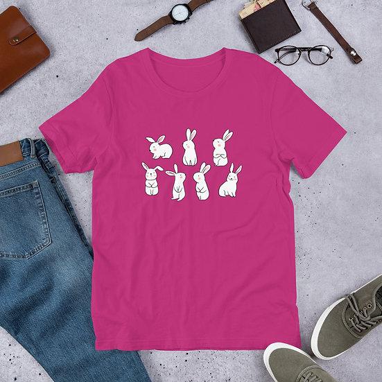 Bunny Short-Sleeve Unisex T-Shirt