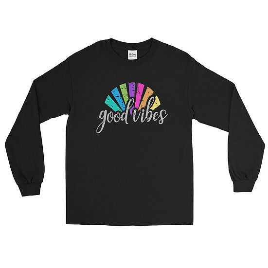 Good Vibes Long Sleeve Unisex Shirt