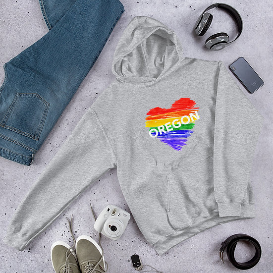 Oregon Rainbow Unisex Hoodie