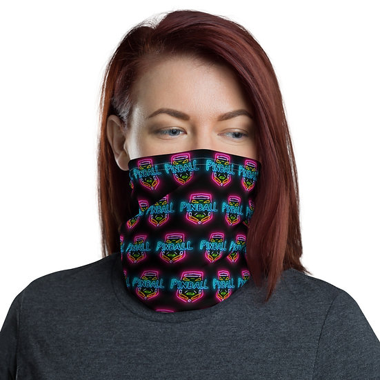 Pinball Sign Patterned Face Mask