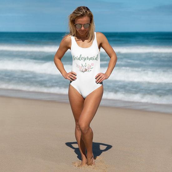 Bridesmaid One-Piece Swimsuit