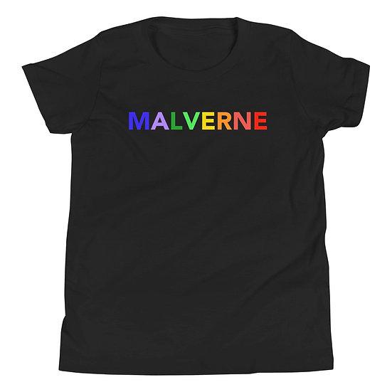 Malverne Rainbow Youth Short Sleeve T-Shirt