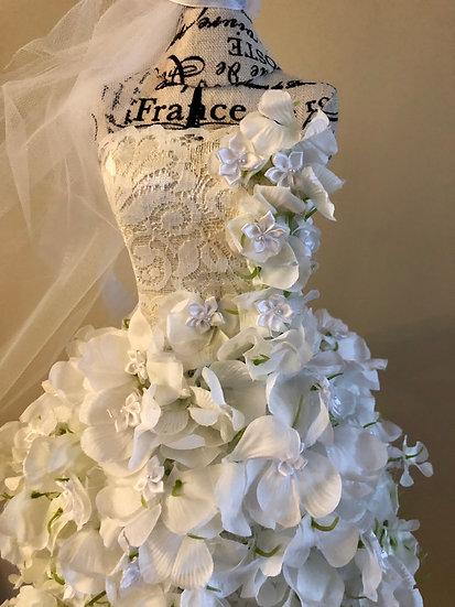 Wedding Gown Centerpieces