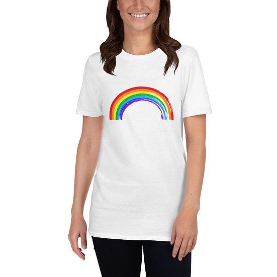 Rainbow Short-Sleeve Unisex T-Shirt