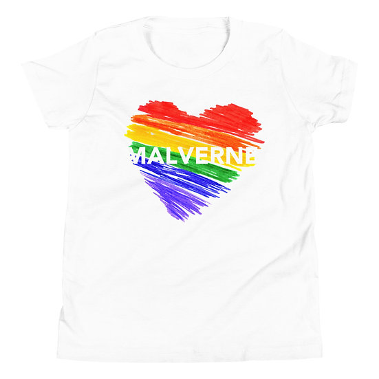 Malverne Heart Youth Short Sleeve T-Shirt