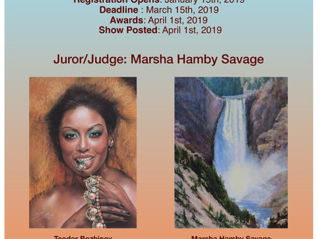 THE 1st RED ROCK PASTEL SOCIETY of NEVADA MEMBER JURIED WEBSHOW