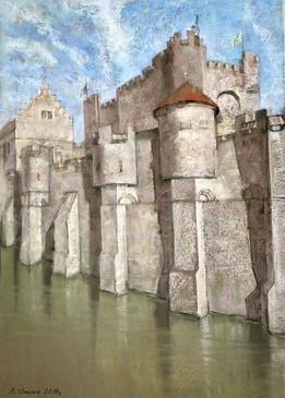 "Vera Ilina ""Castle Gent in the Kingdom of Belgium"""