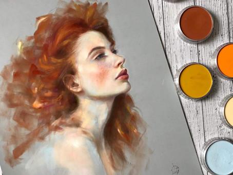 The beauty of PanPastel by Irina Artamonova