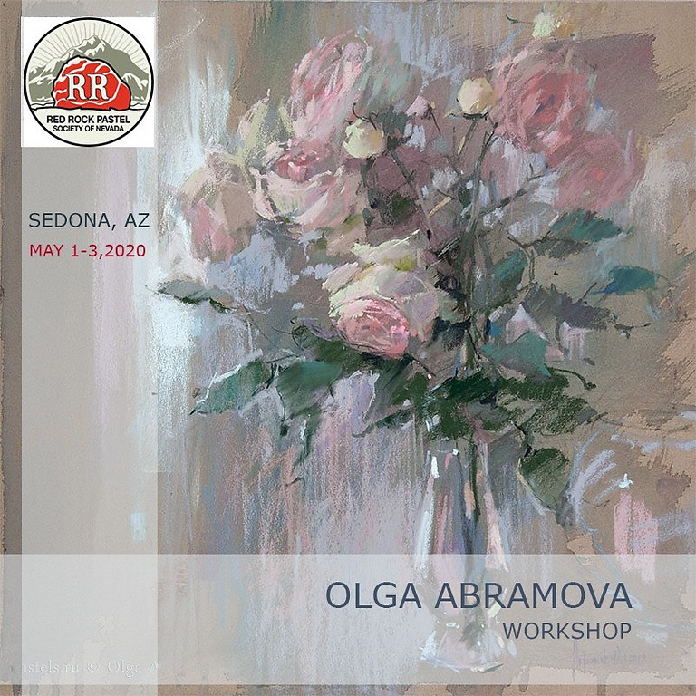 """Olga Abramova Workshop """"Emotional Light and Color in florals and more""""."""