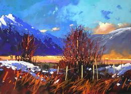 "Tony Allain ""Golden Light, Scotland"""
