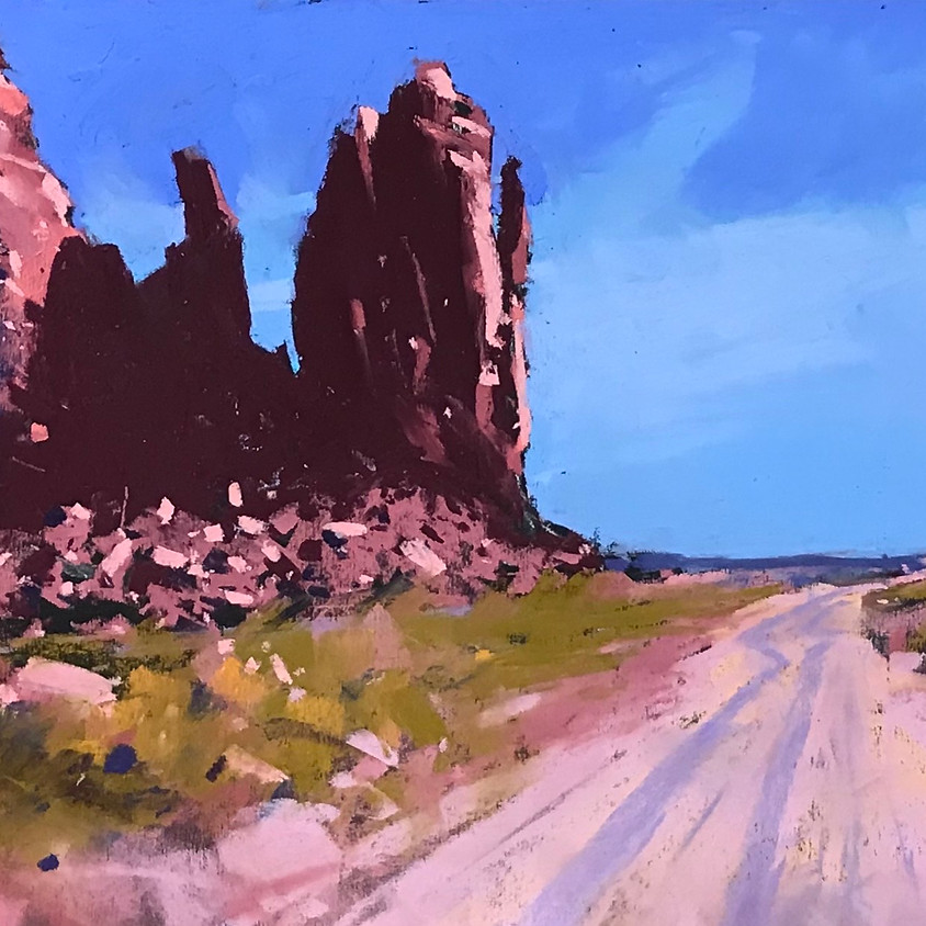 Zoom Workshop by Tony Allain CREATING MOOD & ATMOSPHERE IN PASTEL: using confident 'brushwork'!