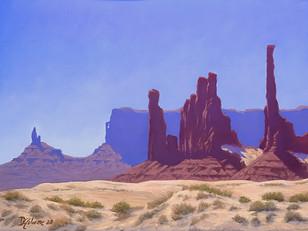 """David Gilmore """"Totem Pole"""""""