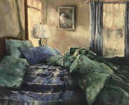 "Jeri Greenberg ""Green Blankets 11am"""