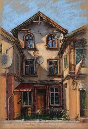 "Natalia Ayas Bezuglova  ""Old House"""