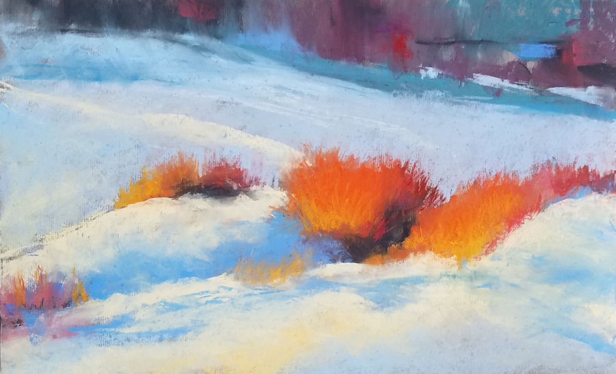 """Honorable Mention #2: """"Winter Willows"""" LorraineTrenholm"""