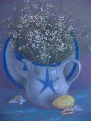 """Elena Askeri  """"Field flowers"""""""