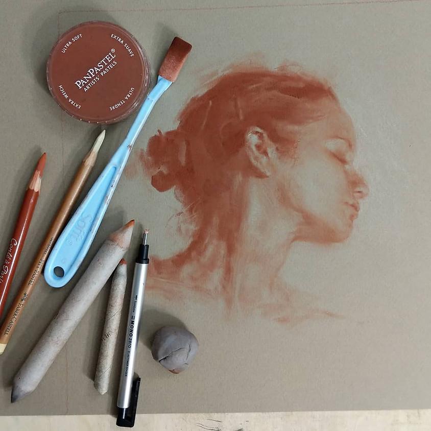 "Corey Pitkin Zoom Workshop ""Portraits in PanPastel"""