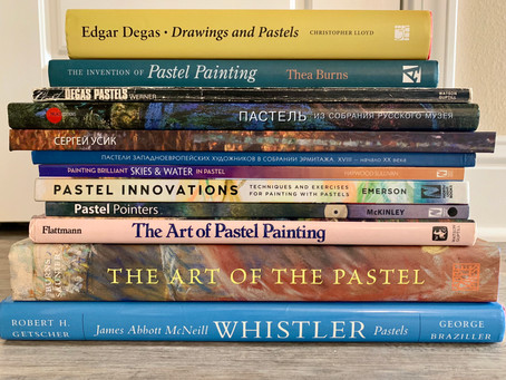 Readers Digest on Pastel Painting, courtesy of Victoria Udovikina