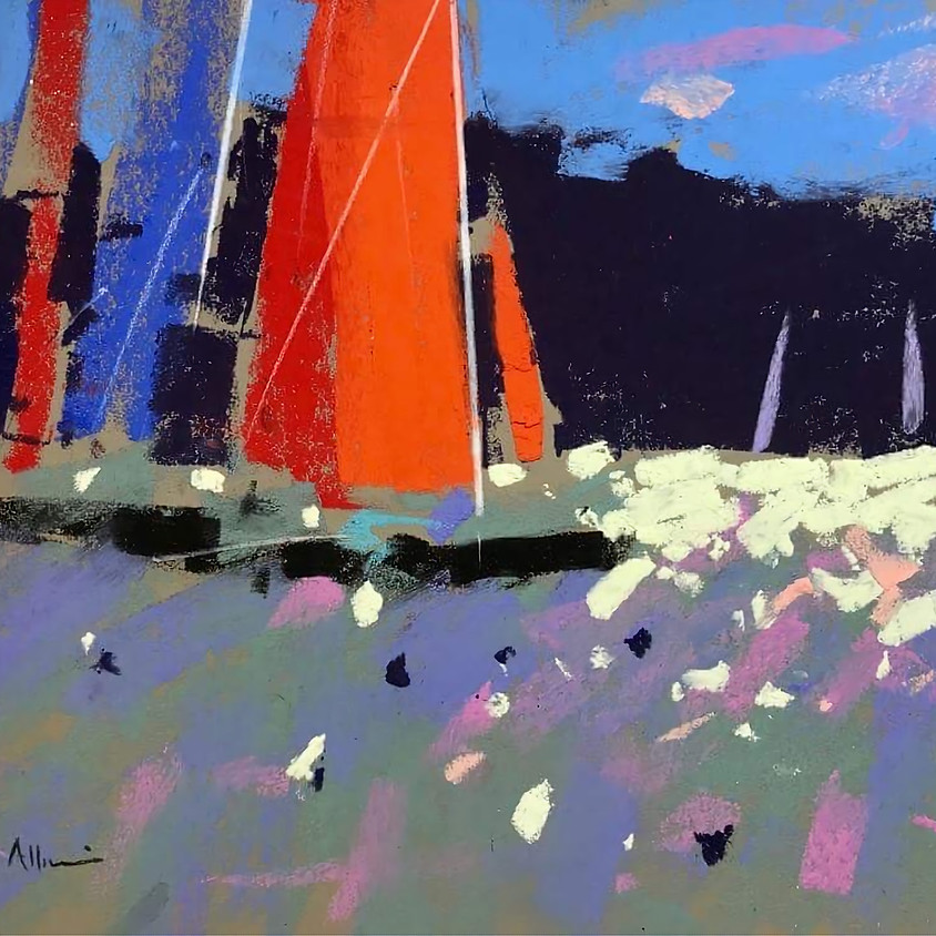 """Zoom Workshop With Tony Allain """"Land and Sea"""". Part 2"""