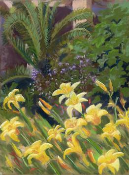 """Debra Carter """"Daylilies in Barcelona"""""""
