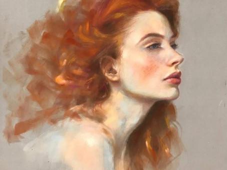 Pastel Portraits by Irina Artamonova