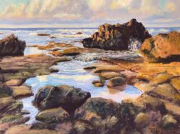 """Lynn Attig """"Tunnels Beach Tide Pools"""""""