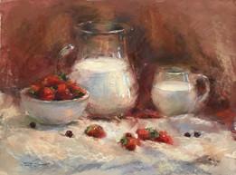 """Tatsiana Harbacheuskaya """"Strawberry And Milk"""""""