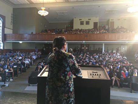 Keynote Speaker for SJSU Pilipino Commencement
