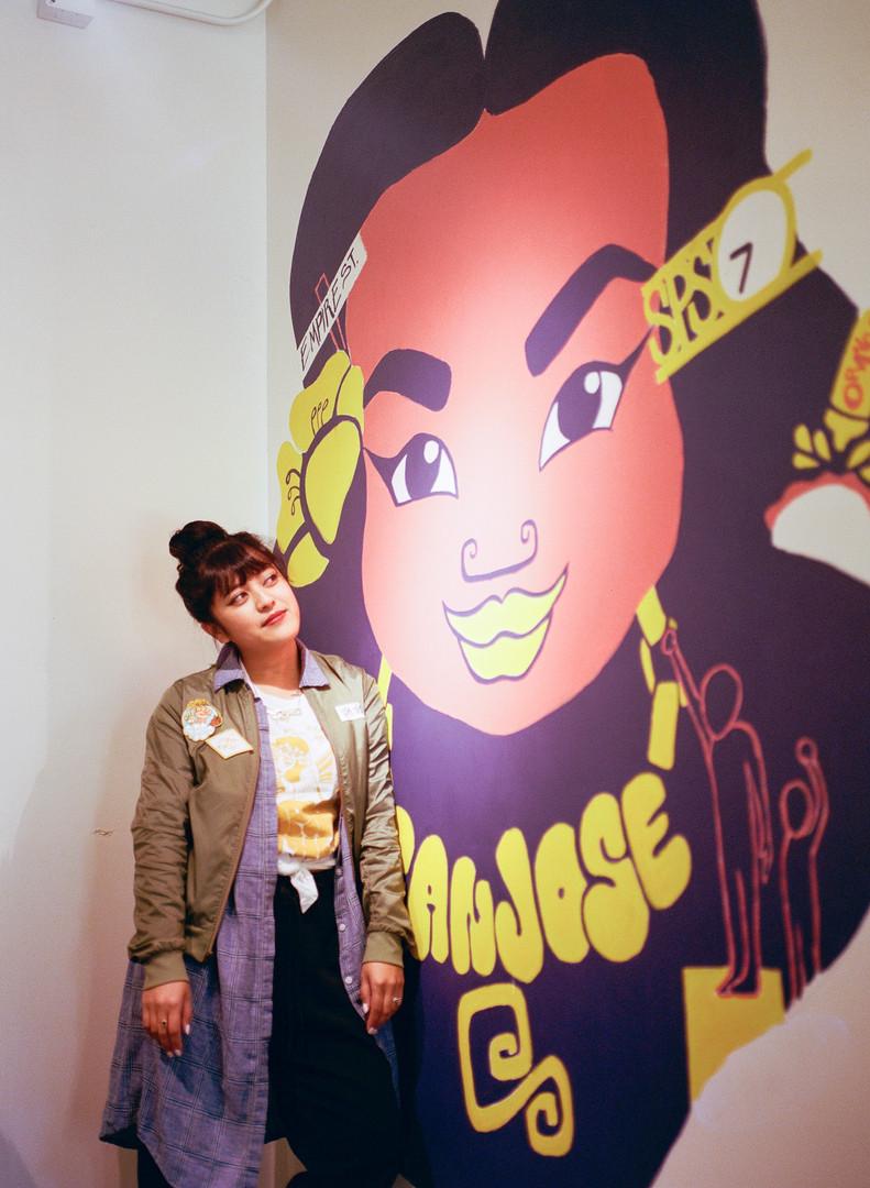 Miss SJ Mural