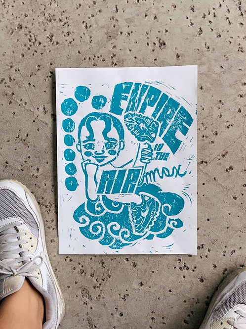 Empire in the Air Max Print
