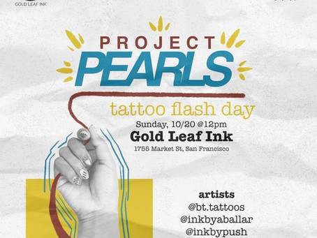 GoldInk x Project PEARLS Flash Day