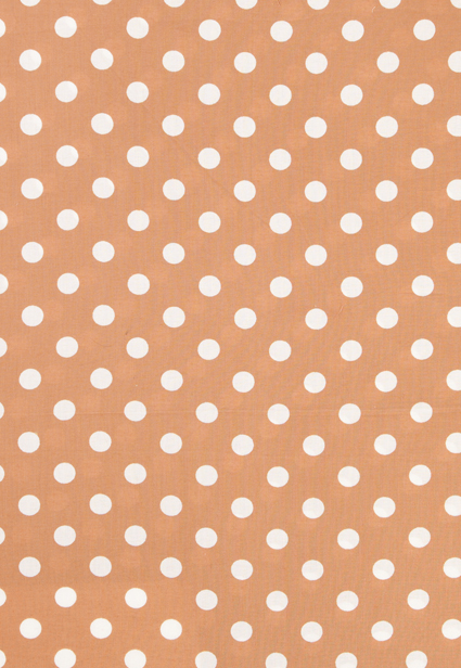 Brown Polka Dot Print