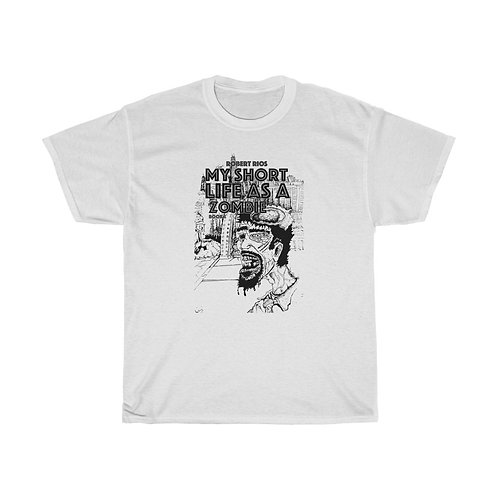 My Short Life as a Zombie Unisex Cotton Tee