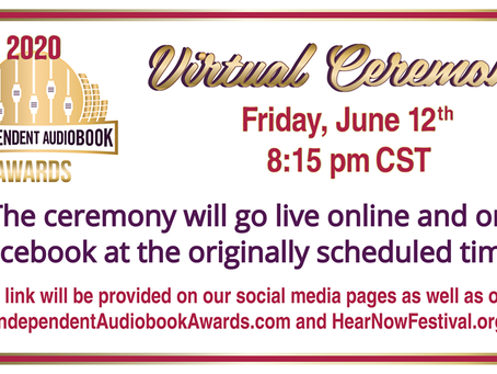 Today is the Day - Independent Audiobook Awards Ceremony