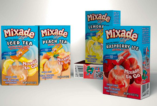 Mixade Package Design