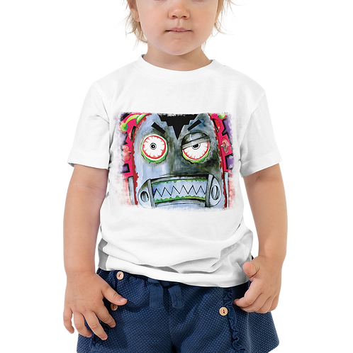 Robot Zombies Toddler Short Sleeve Tee