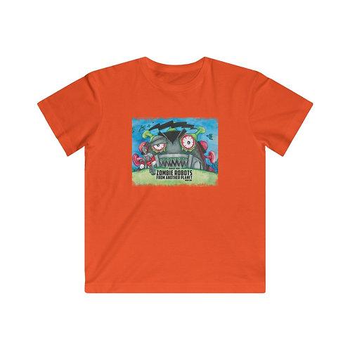 Zombie Robot Cover Art Kids Heavy Cotton™ Tee
