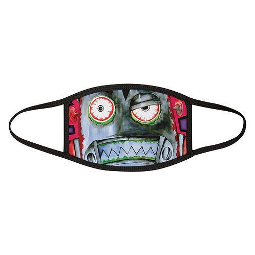 Zombie Robot Mixed-Fabric Face Mask