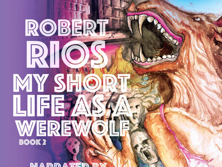 Now on sale! My Short Life as a Werewolf Audiobook.
