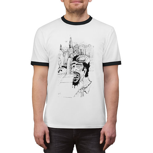 My Short Life as a Zombie, Unisex Ringer Tee