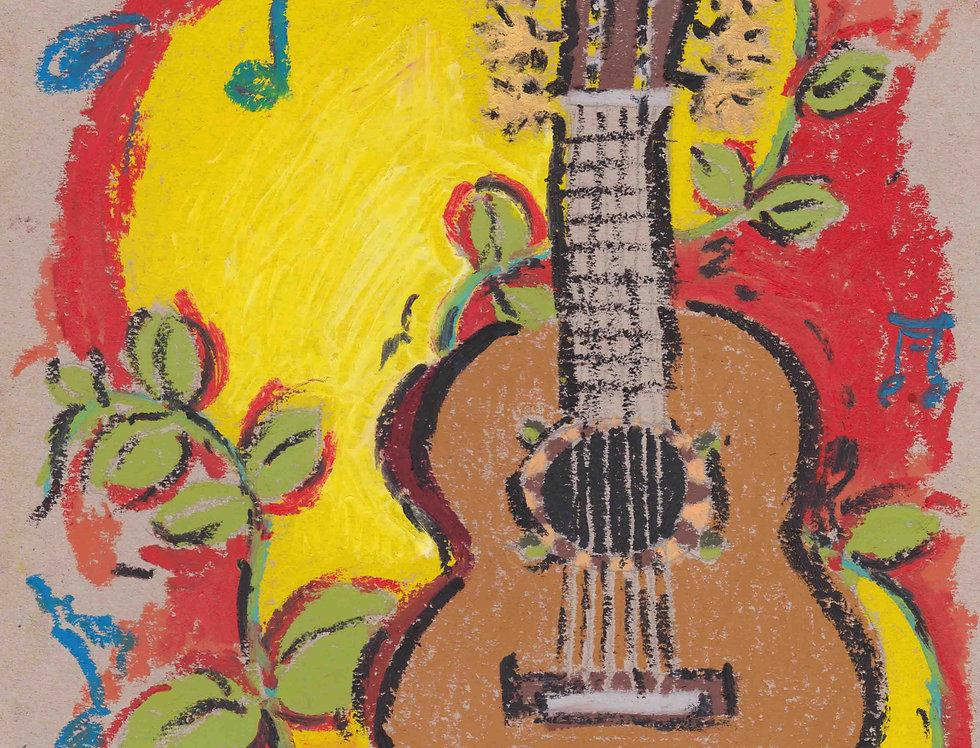 花と音楽と