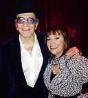 Trini Lopez with Ann Anello