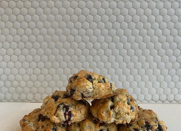 Blueberry Scones 1/2 Dozen